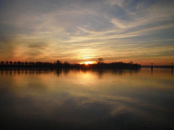 Loire - coucher de soleil 2